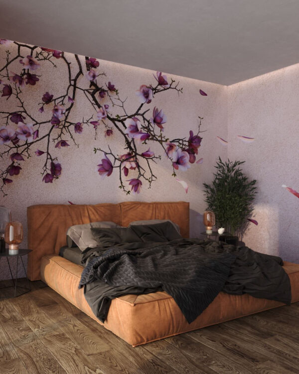 DesignerFototapeten Autunno Gold Pink | fototapete natur