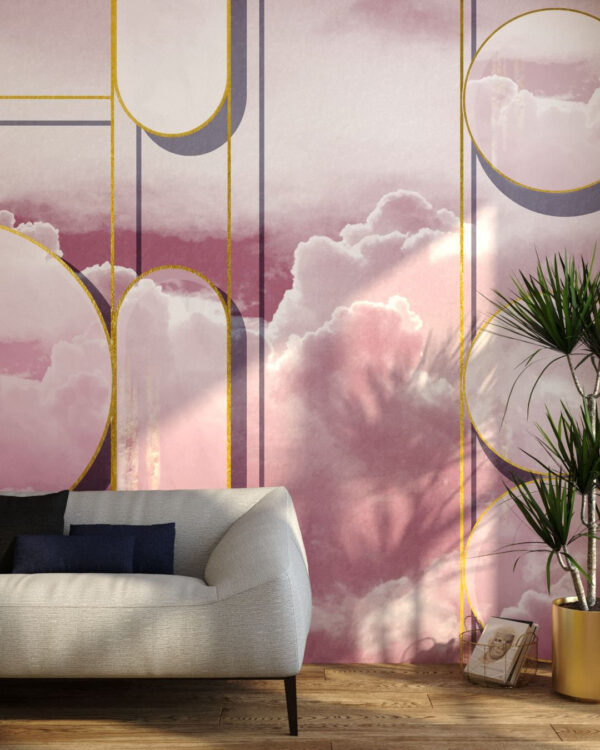 Kaufen Fototapeten Foliage Sky | 3d wandtapete