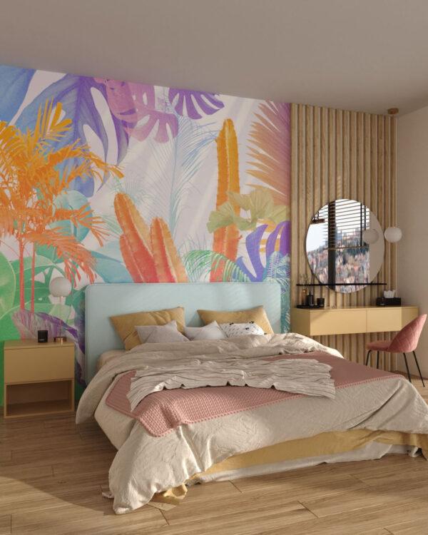 Designer Fototapeten Foliage Colored | 3d tapeten