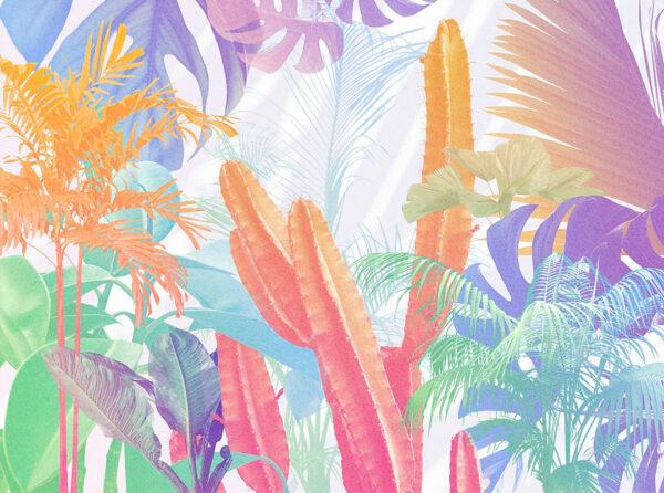 Designer Fototapeten Foliage Colored Beispiel | 3d tapeten