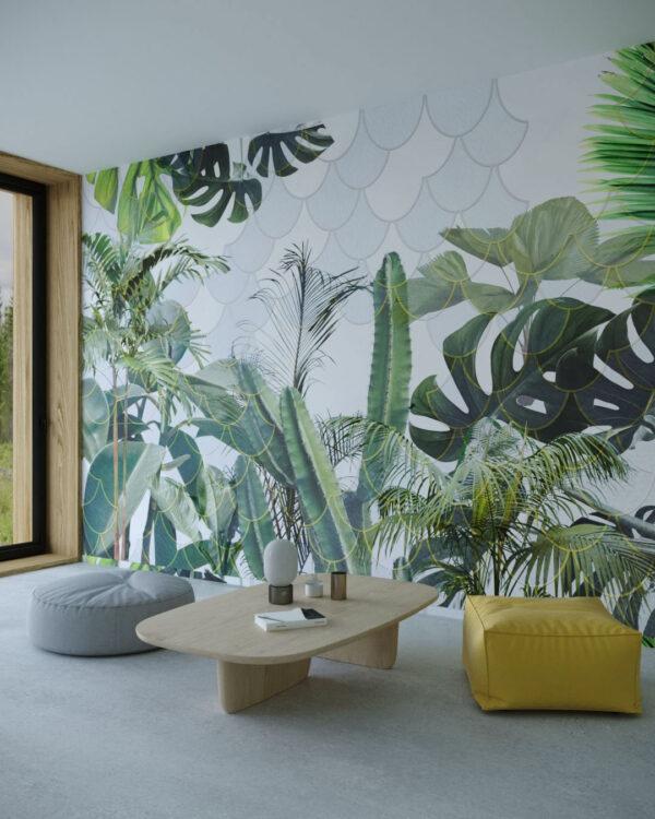 Kaufen Designer Fototapeten Foliage Hemicycle | 3d tapete