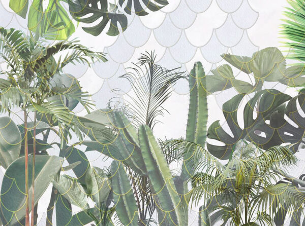 Kaufen Designer Fototapeten Foliage Hemicycle Beispiel | 3d tapete