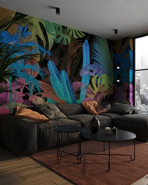 Kaufen Designer Fototapeten Foliage Motley | 3d tapete wohnzimmer