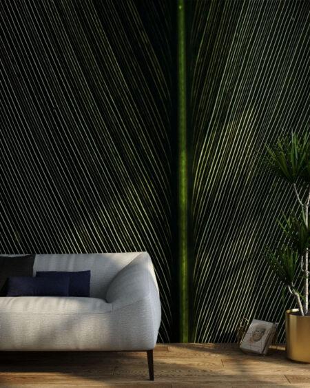 Kaufen Designer Fototapeten Strutturato Green Leaf | 3d tapeten