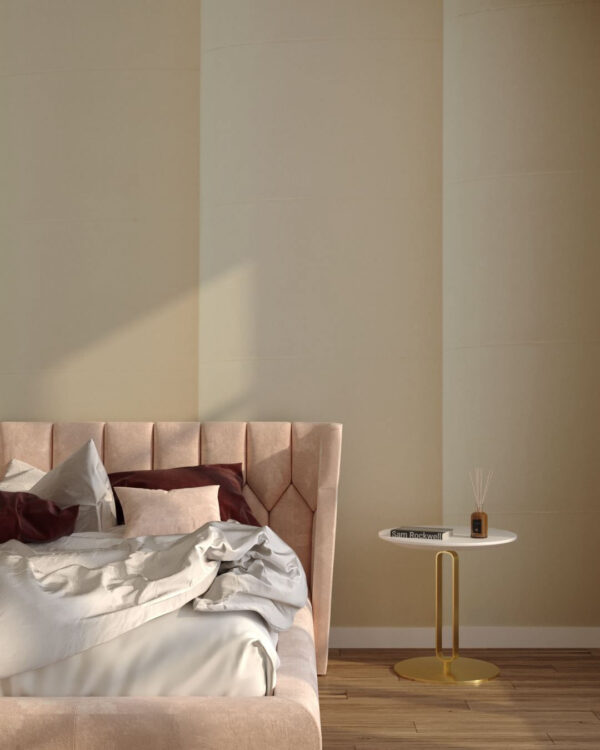 Fototapeten Strutturato Column Beige | 3d tapete schlafzimmer