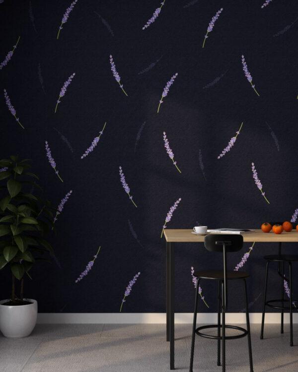 Design Fototapeten Lavender 3D | fototapete natur