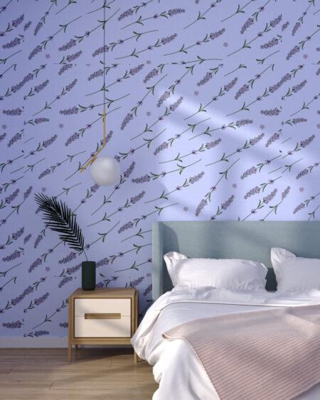 Fototapeten Lavender Violet | 3d tapete schlafzimmer