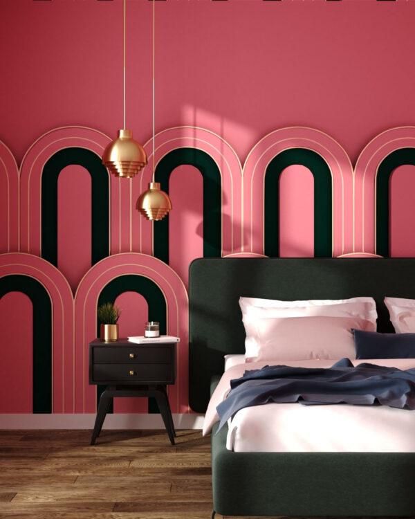 Kaufen Designer Fototapeten Estetista Pink   3d tapete