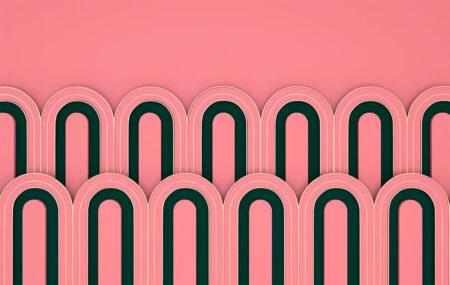 Kaufen Designer Fototapeten Estetista Pink Beispiel | 3d tapete