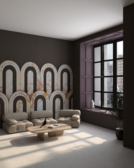 Kaufen Designer Fototapeten Estetista Cappuccino | 3d tapete