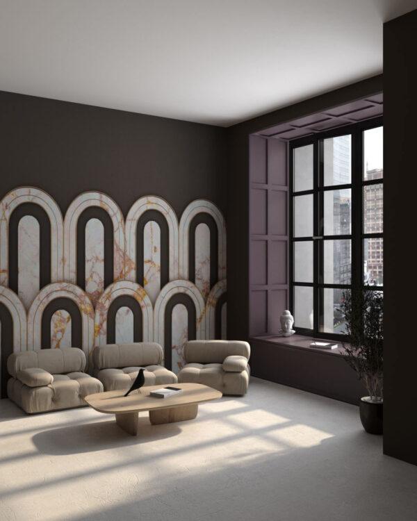 Kaufen Designer Fototapeten Estetista Cappuccino   3d tapete