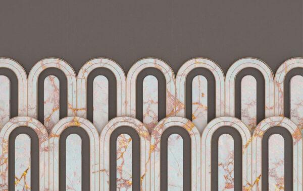 Kaufen Designer Fototapeten Estetista Cappuccino Beispiel grau   3d tapete