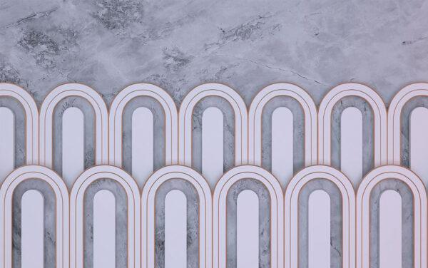 Kaufen Fototapeten Estetista Gray Beispiel gräuliche Tönung | 3d wandtapete