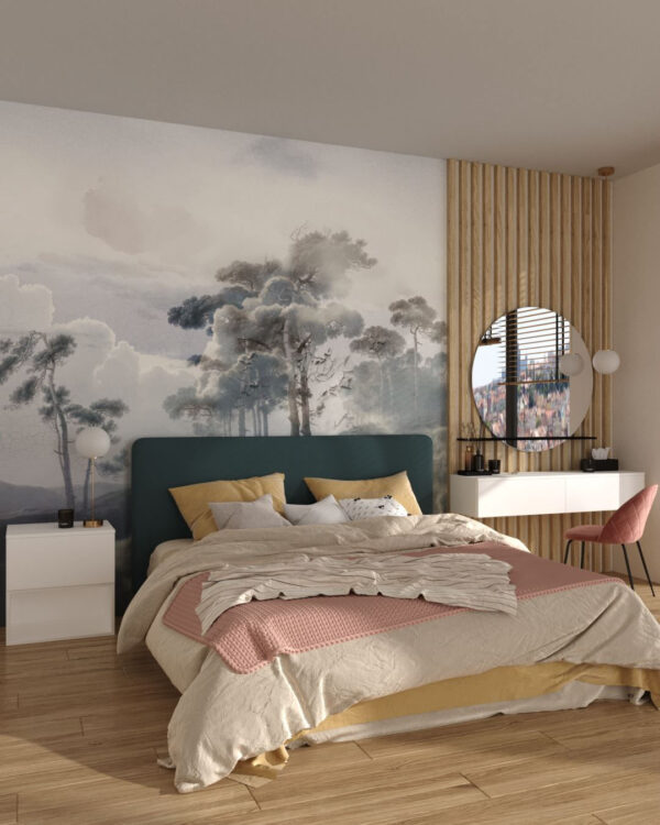 Design Fototapeten Armonia in the Сlouds   3d tapeten schlafzimmer
