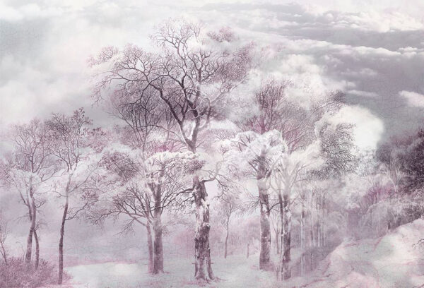 Design Fototapeten Armonia Pink Beispiel lila | fototapete natur