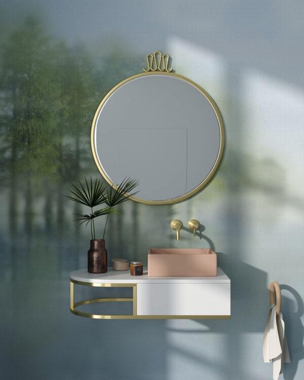Fototapeten Foggy Forest Dream | 3d fotapeten