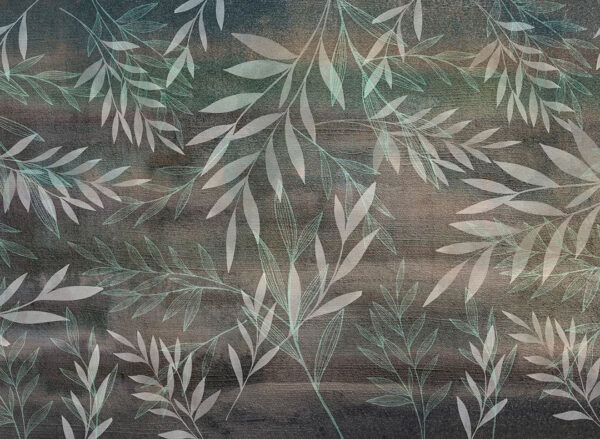 Design Fototapeten Textured Fall Beispiel Grün   fototapete natur