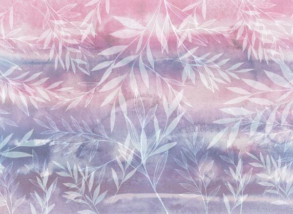 Design Fototapeten Textured Fall Beispiel Rosa   fototapete natur