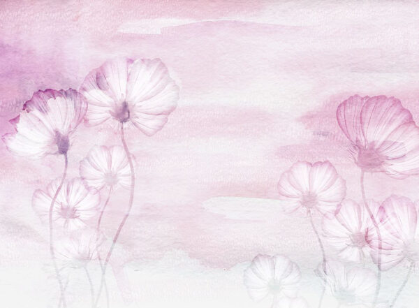 Design Fototapeten Textured Romance Beispiel rosa | fototapete natur