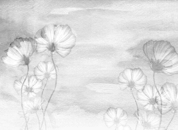 Design Fototapeten Textured Romance Beispiel grau | fototapete natur