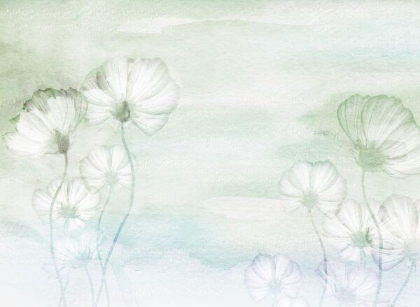 Design Fototapeten Textured Romance Beispiel Grün | fototapete natur