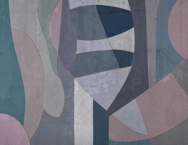 Designer Fototapeten Geometry Surface Beispiel | 3d tapete