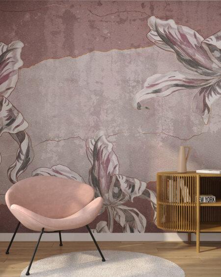 Designer Fototapeten Tulip Touch | 3d wandtapete