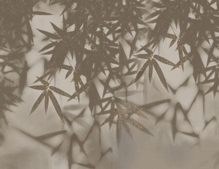 Design Fototapeten Looming Beispiel grau vergoldet | fototapete natur