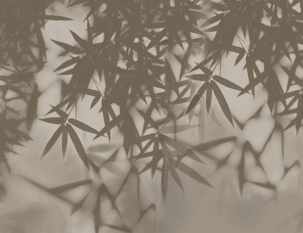 Design Fototapeten Looming Beispiel grau   fototapete natur