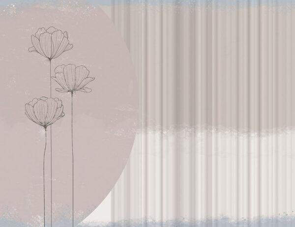 Kaufen Designer Fototapeten Bliss Beispiel Wellen im Hintergrund | 3d tapeten