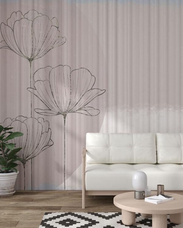 Kaufen Designer Fototapeten Bliss Bouquet | 3d tapete