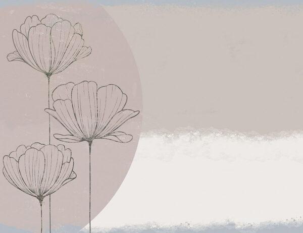 Kaufen Designer Fototapeten Bliss Bouquet Beispiel glatt | 3d tapeten