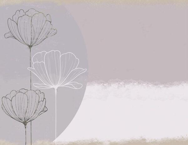 Kaufen Designer Geometrie Fototapeten Bliss Trio Beispiel| 3d tapete