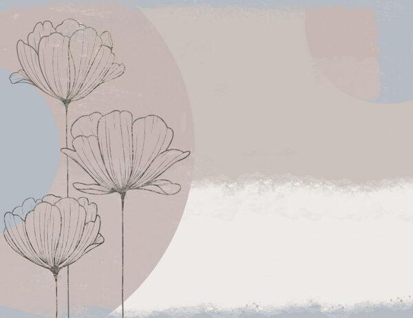 Kaufen Designer Fototapeten Bliss Pastel Beispiel | 3d tapete