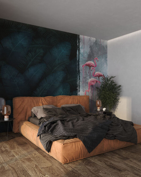 Designer Fototapeten Contrast Dark | 3d tapete