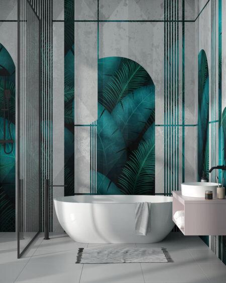 Fototapeten Fence | 3d tapete badezimmer