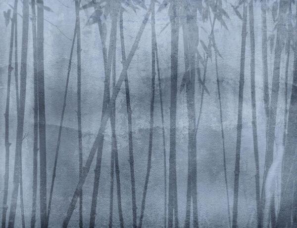 Design Fototapeten Behind Winter beispiel blau | fototapete natur