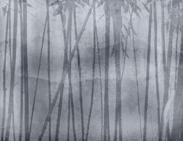 Design Fototapeten Behind Winter beispiel grau | fototapete natur