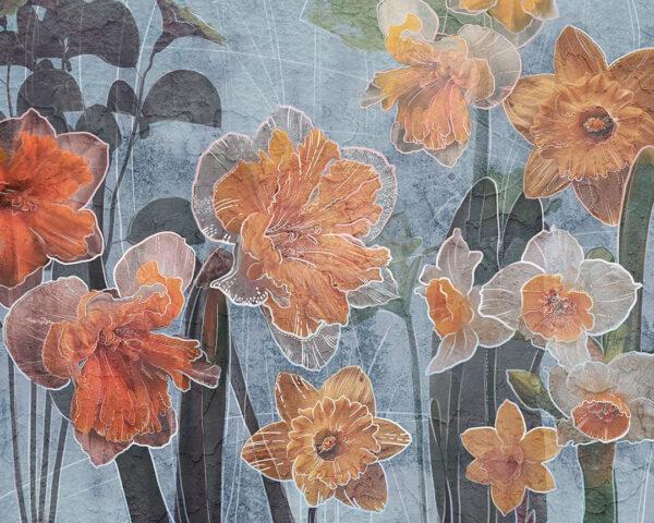 Kaufen Designer Fototapeten Narcissus Beispiel paradiesisch | 3d tapeten