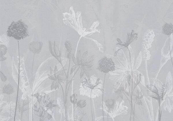 Fototapeten Secret Garden Beispiel Grautönung | 3d tapeten schlafzimmer