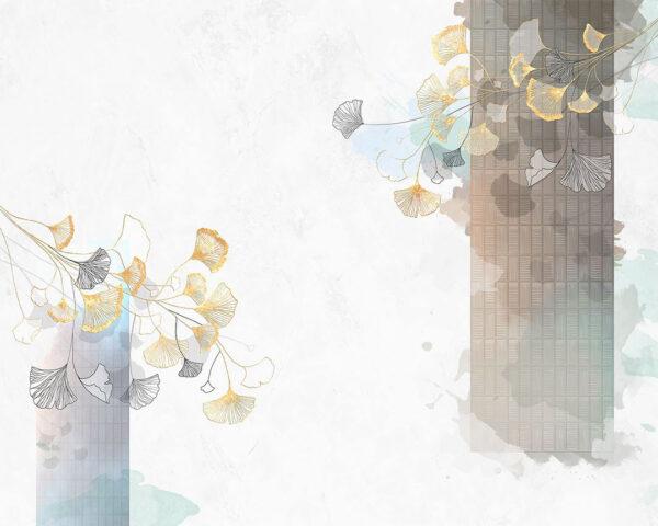 Kaufen Designer Fototapeten Nouveau Beispiel Weiß | 3d wandtapete
