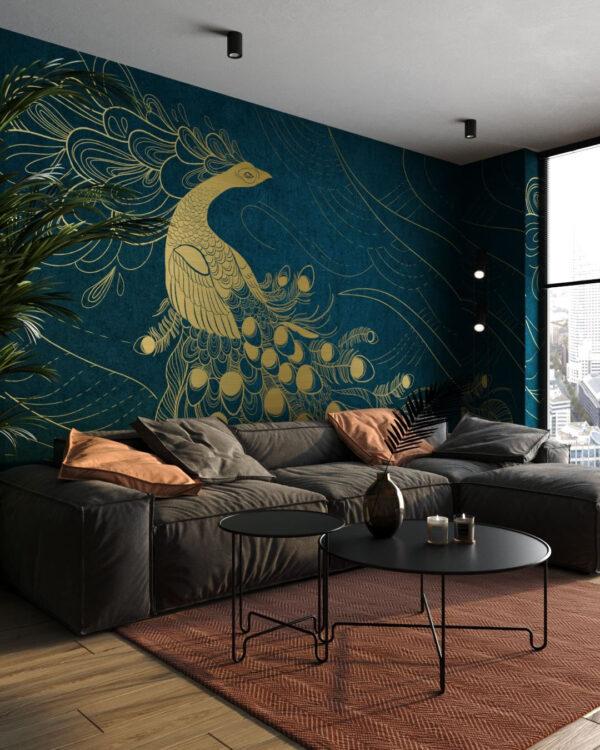Kaufen Designer Fototapeten Peafowl | 3d tapete