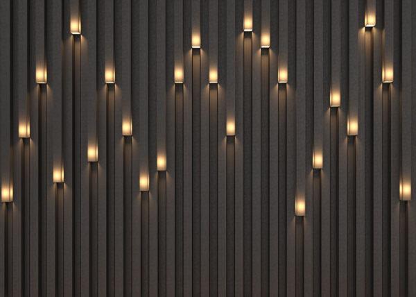 Designer Fototapeten Lume Beispiel dim | 3d tapete