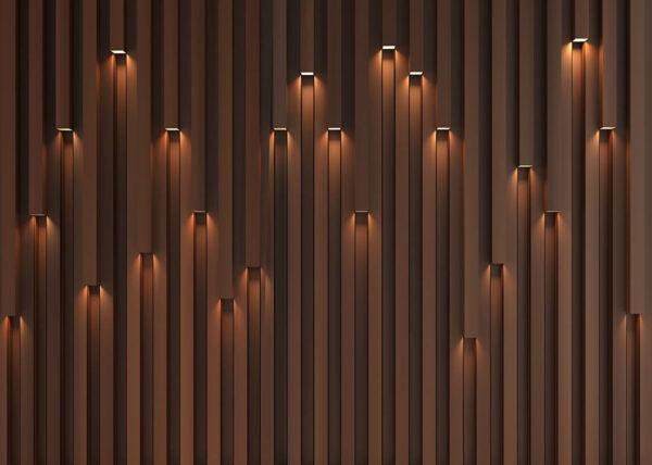 Designer Fototapeten Lume Beispiel Nacht | 3d tapete