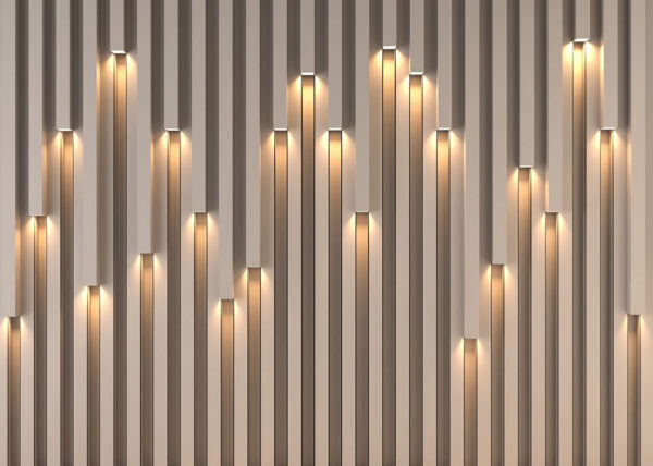 Designer Fototapeten Lume Beispiel Standard | 3d tapete