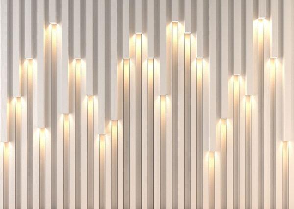 Designer Fototapeten Lume anschauliches Beispiel | 3d tapete