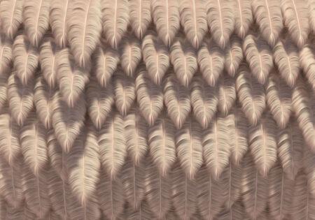 Designer Fototapeten Piuma Beispiel leinen   3d tapeten