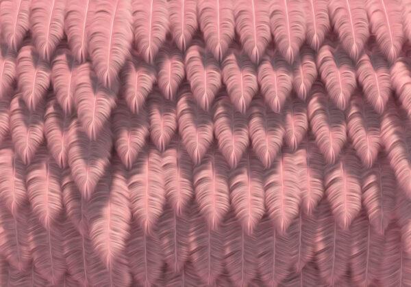 Designer Fototapeten Piuma Beispiel Rosa | 3d tapeten