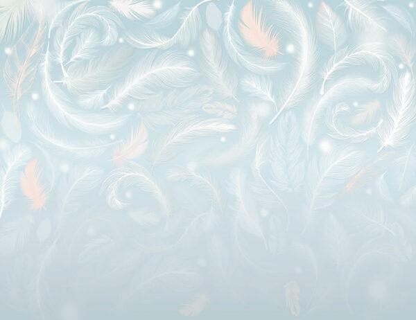 Design Fototapeten Armonia of the Sunrise Beispiel blau | fototapete natur
