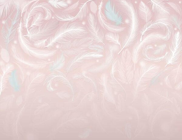 Fototapeten Frequency Beispiel rosa | 3d tapete